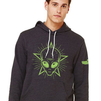 Space Aliens Star Halo Alien Sweatshirt